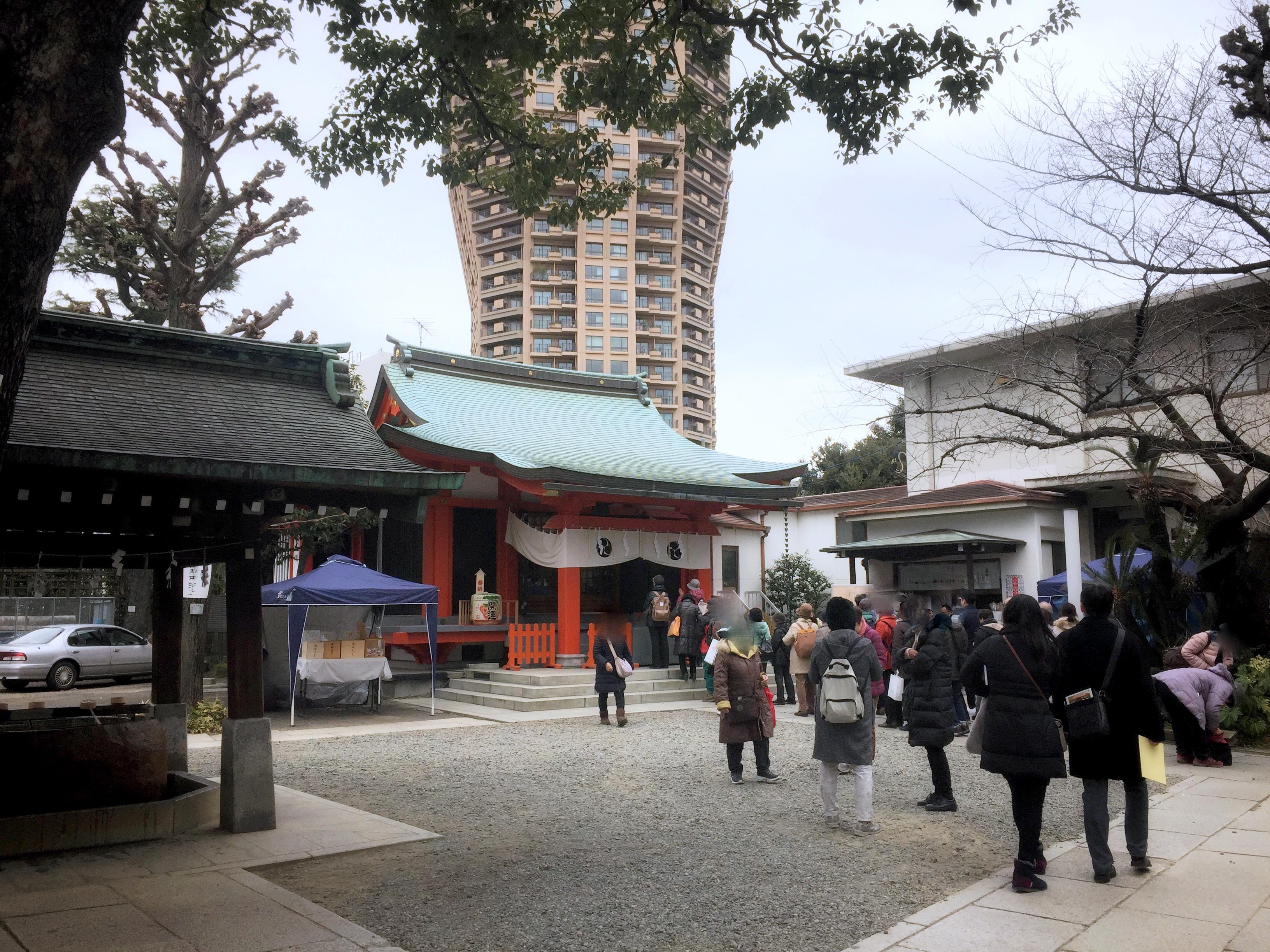 麻布氷川神社(毘沙門天)