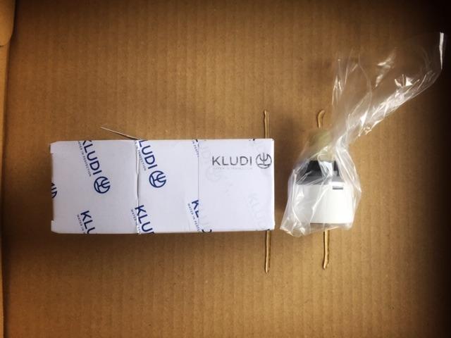 KLUDI純正のカートリッジが届いた!